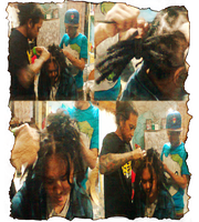 Dreadlockz the making by Starlight-Cemetery