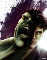 HULK - Everyone has a secret by Weidel