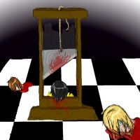 Le Guillotine by evra-the-loner