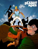Return to the Planet of the Apes by Pino44io