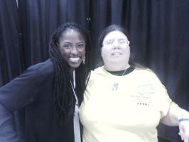 Me and Rutina Wesley @ Wizard World Tulsa 2014 by AnnieSmith