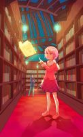 Valentina's library by Hello-Morphine