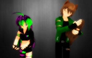 [MMD] Body Swap by khftw