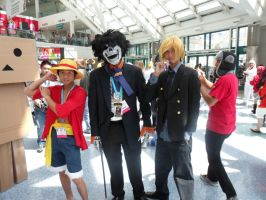 Anime Expo Strawhats by DelphiniumFleur