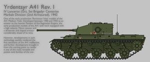 A41 Rev. I Medium Tank [Graphic|Coloured] by SixthCircle