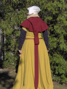XVth century costume with hood by Laerad