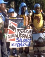 Welcome to NY and Save Darfur by sashaypixie