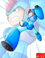 Mega Man by Witchking00