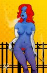 Mystique Pin-Up by Cyber-Kun
