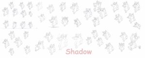 New Shadow Expressions by ShadowDHusky