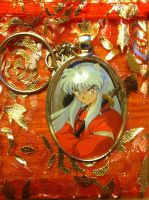 InuYasha Hand-Made Pendant (Not Made By Me). by NotSoCuteAndFuzzy
