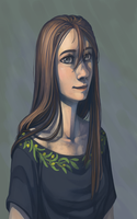 Just A Portrait of Eleanor by DimeSpin
