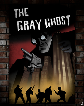 Beware Of The Gray Ghost by Zerj19