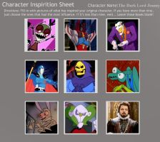 Character Inspiration for Lord Jimmy by SithVampireMaster27