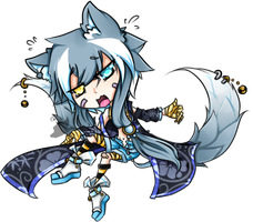 .:Adopted:. Timid Kitsune by Devil1lin