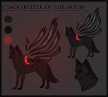 Dark Keeper of the Moon Adoptable (Make an Offer) by Fells-Adopts