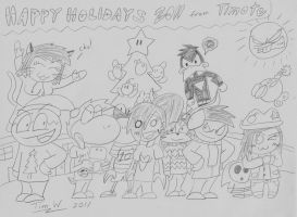 Christmas picture of 2011 by T95Master