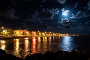 Nights in Santa Pola by inz747