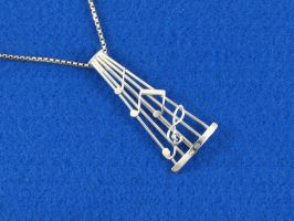 Musical Pendant by harlewood