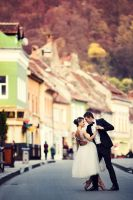Love in the old town III by mocanubogdan