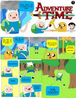 Adventure Time - Page 1 by Mgx0