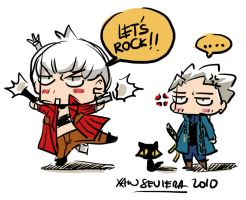 DMC+let's rock babeh by xanseviera