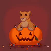 Halloween Doodles: Candy by Kiire