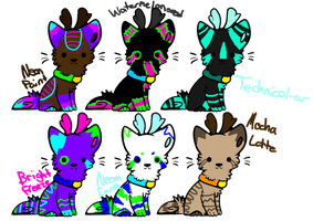 Deerdog breedables by PurrincessBunbun