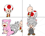 Mini Comic - How Shelltops came to Be by Rotommowtom