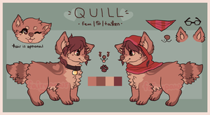 quill reference by fairypaws