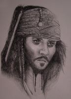 Captain Jack Sparrow by marty-mclfy