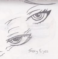 Sexy Eyes by timburtonluver28