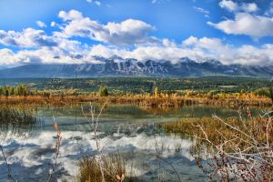 Mountain Reflection by Joe-Lynn-Design