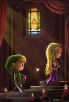 Zelda Tribute by Mark-Ito