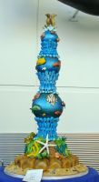 Structure Cake by Feantalia