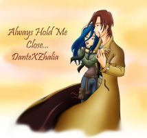DXZAlways Hold Me Close by snowcyclonedragon