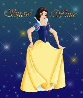 SNOW WHITE version 1 by FERNL