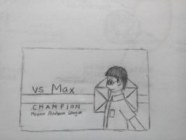 Doodle: Max's VS screen by MaxCheng95