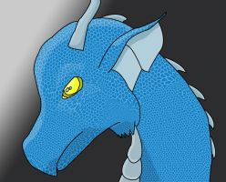 Rane in Dragon Form by Natalie02