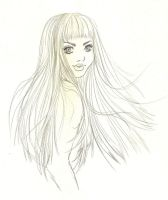 girl sketch 2 by Tania-S