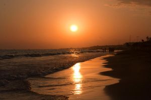 Sunset at the Beach 05 by metalhead41