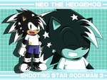 SSR3  Young Neo The Hedgehog by DragonWarrior25