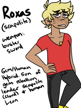 Roxas- Scapolite by literally-totty