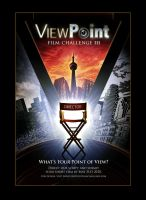 ViewPoint Film Challenge #3 Poster Design by RUSKULL
