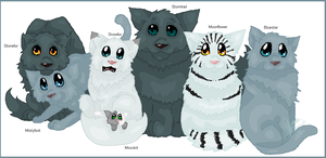 Family Portrait - Bluestar by Shadowgaze