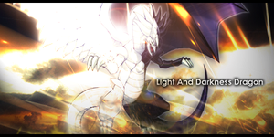 Light And Darkness Dragon by UltimatuS1
