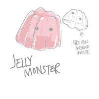 Jelly Monster Concept by EdoMame