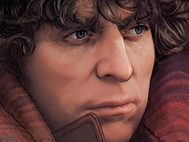 Tom Baker by Lithrael