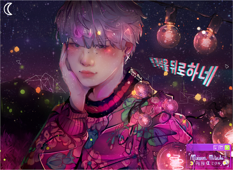 YOONGI_YOUNG FOREVER NIGHT. by MaewenMitzuki