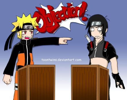 Naruto -- Attorney at Law by ToonTwins
